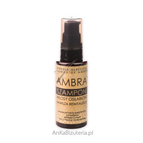 ankabizuteria.pl Szampon do włosów AMBRA z bursztynu - włosy osłabione