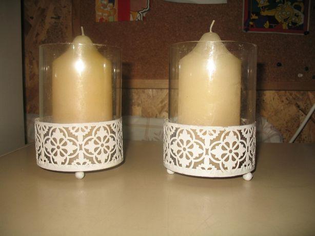 Vende conjunto de 2 velas aromatizadas
