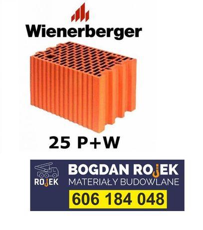 Pustak 25 P+W bloczek typ Wienerberger Porotherm - MB BOGDAN ROJEK
