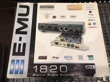 E-MU 1820 audio interface