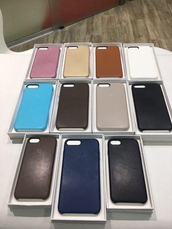Leather case кожаный чехол iPhone 7 7+ 8 8 plus оптом розница дроп ip