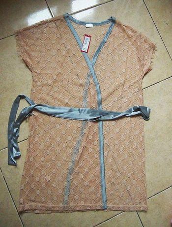 Кружевной халат пеньюар yamamay s - m