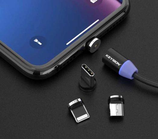 Cabo carregamento iPhone magnético - NOVO