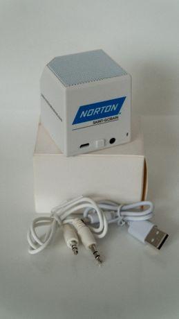 Głośnik Bluetooth biały Norton cena za 2 szt to 40 zł