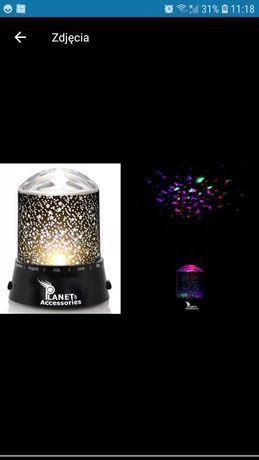 Star Master Lampka Nocna Projektor Gwiazd Kolorowy