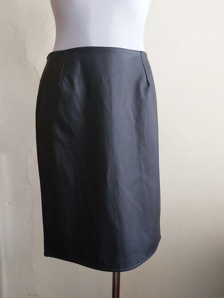 Nowa spódnica Eko skórka wysoki stan M
