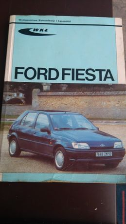 Ksiązka Ford Fiesta modele 89 - 96r