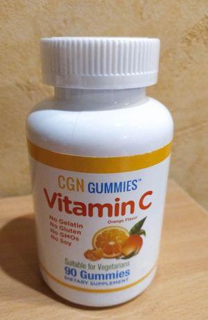 California Gold Nutrition Жевательные таблетки с витамином C, 90 шт.