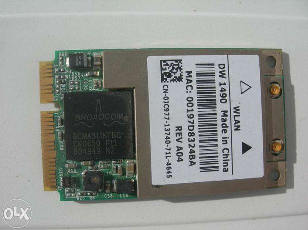 Placa wifi DELL para portáteis