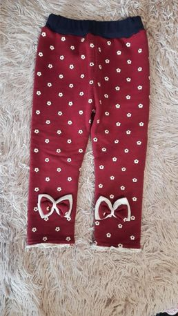 Тёплые лосины (детские штаны, теплі лосини дитячі)