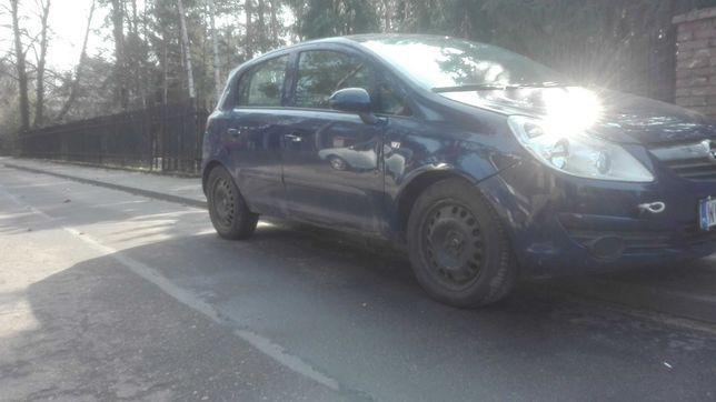 Drzwi prawe przednie tylne Opel Corsa D 5D Y20Z KOMPLETNE