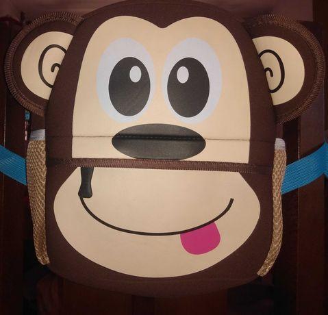 Plecak plecaczek do przedszkola zerówki małpka
