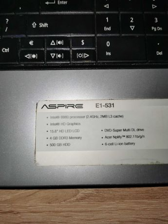 Laptop Acer jak nowy