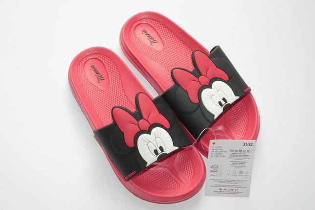 Disney Myszka Minnie klapki na basen plażę 31-32