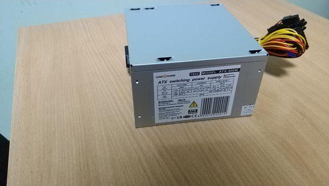 Блок питания 400W LogicPower новый! Гарантия 2 года!