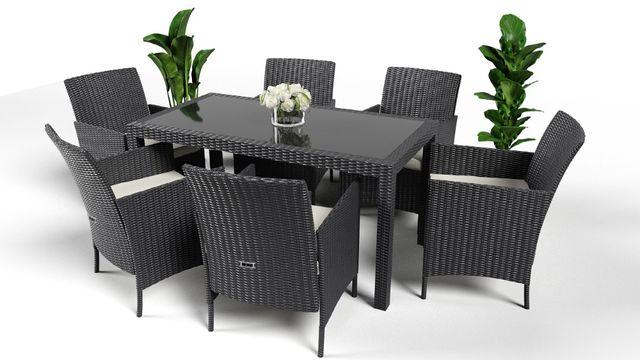 Набор садовой мебели комплект из ротанга 6+1 Садові меблі РОТАНГ