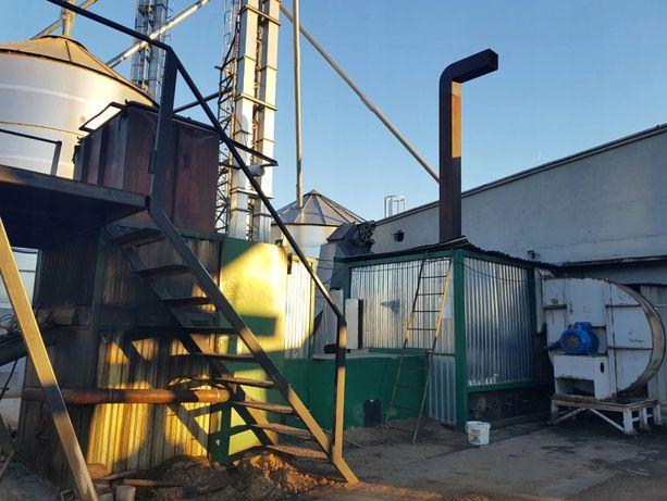Automatyczna Kotłownia na biomasę 1000kW wymiennik