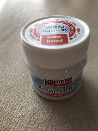 Lakier błyszczący (wodny) 50ml - Pentart, decoupage