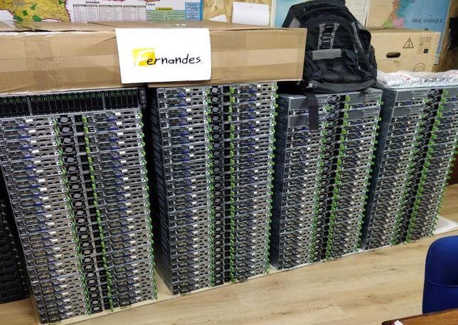 QUATRO Servidores | 96 Cores + 96GB RAM DDR3 | Espaço p/ 24 x HDDs