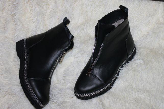 Зима мех , весна - байка 2021 женские ботинки . с 36-41р