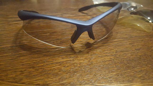 Okulary przeciwsłoneczne z wymiennymi szkiełkami