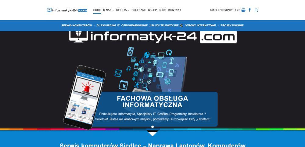 Tworzenie stron internetowych strona www Sklepy internetowe Siedlce Siedlce - image 1