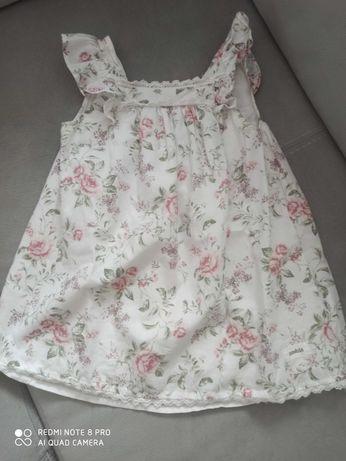 Sukienka newbie róże 86