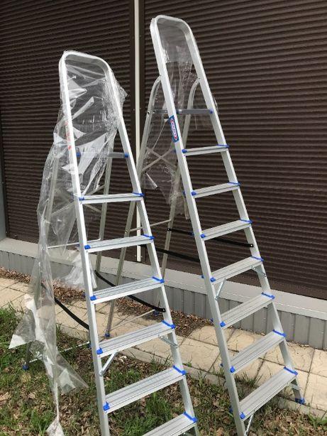 Лестница стремянка 4.5 метра алюминиевая односторонняя KRAFT GERMANY