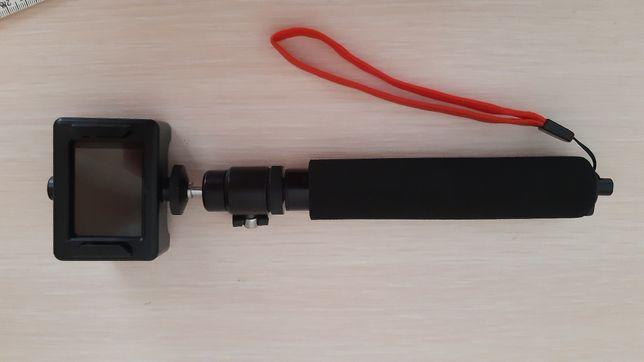 Монопод телескопический, селфи палка для экшен камеры