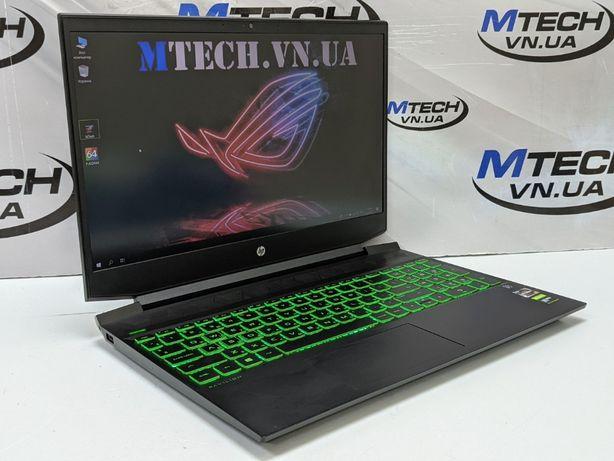 Игровой ноутбук HP/Ryzen7-3750H/16Gb/256SSD/GTX1650/Гарантия/Кредит0%