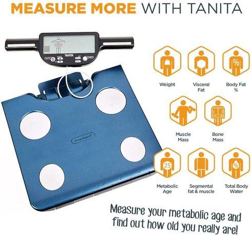 весы вага Сегментный монитор состава тела Tanita BC-602