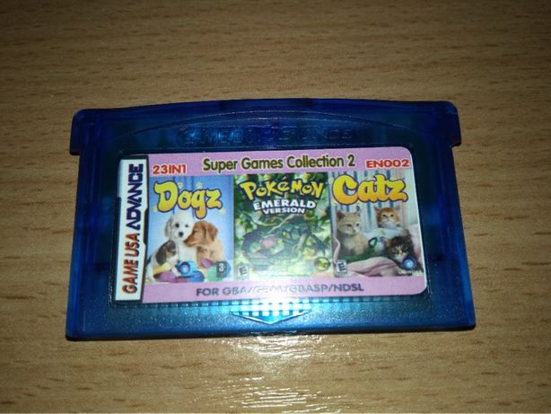 23IN1 Game Boy Advance Pokemon Donkey Kong Zelda