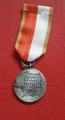Medal PRL Walka Praca Socjalizm