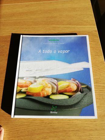 Livro Bimby A Todo o vapor - portes incluídos