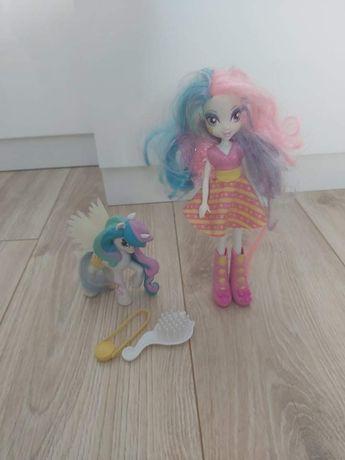 Lalka i kucyk Celestia my little pony