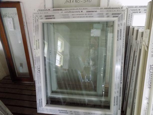Sprzedam okno pcv nowe wys 120 szer 100 uchylno-rozwierne . TANIO .