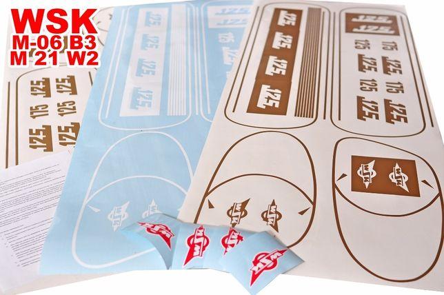 Szparunki, szablon, logo, WSK M-06 B3, M 21 W2