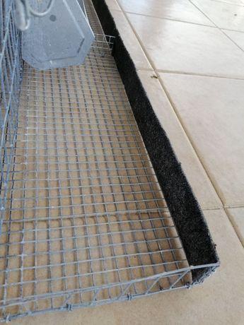 Gaiola (ou jaula) para codornizes