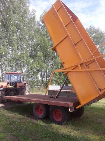 Przyczepa skorupowa wywrotka tandem Cebeco 12 ton