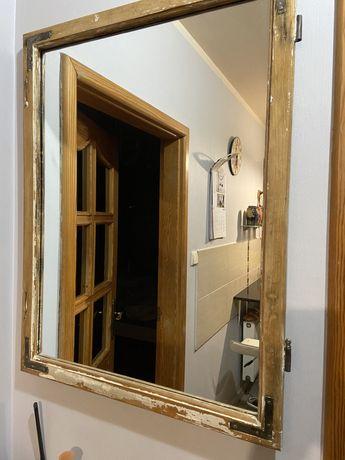 Lustro stare okno Loft