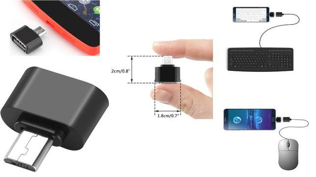 Micro USB Adaptador OTG e OTG Tipo C