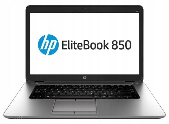"Laptop poleasingowy HP 850 G2/i5 gen 5/8 gb/256 GB SSD/15,6""FHD/WIN10"