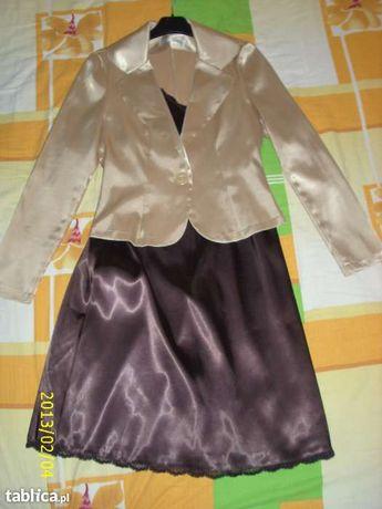 Komlet sukienka i żakiet 38
