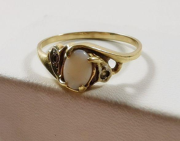 Złoty pierścionek PRÓBY 585 ROZMIAR 13!