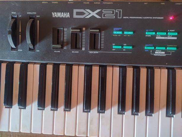 Синтезатор Yamaha Dx21
