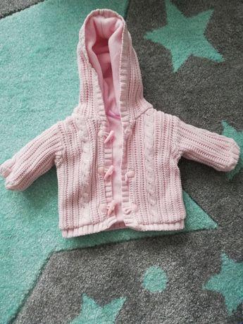 Ocieplany sweterek r. 56