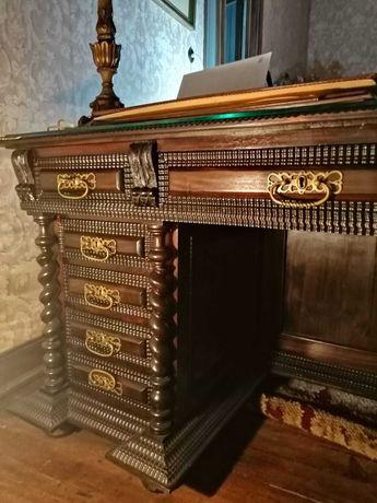 Conjunto móveis antigos escritorio