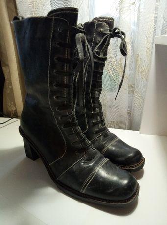 Зимние ботинки кожа Турция(оригинал)