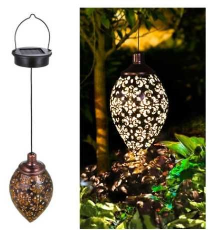 Candeeiro/ lâmpada exterior/ jardim alimentação solar *envio grátis*