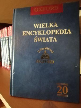 Wielka Encyklopedia Świata - 20 tomów, piękna oprawa - NOWA CENA!